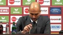 """27e j. - Guardiola : """"Je veux vraiment féliciter mes joueurs"""""""