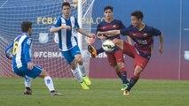[HIGHLIGHTS] FUTBOL (Juvenil): FC Barcelona A-Espanyol (2-3)