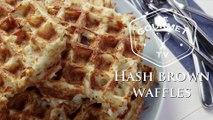Hash Brown Waffle Recipe - Le Gourmet TV