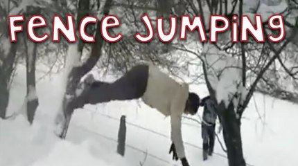 Fence Jumping Fail