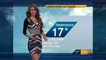 Yanet Garcia y El Avance Del Pronostico Del Tiempo 21-Dic-2014 19:00 PM Full HD