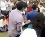Girls & Boys dancing together in punjab university