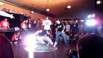 Open Space & Skeeter vs Top 9 / Bboying 2x2 / Semifinal / Vilnius Street Battle 2016