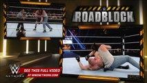 WWE Network: Brock Lesnar vs. Bray Wyatt & Luke Harper - 2-on-1 Handicap Match: WWE Roadblock 2016