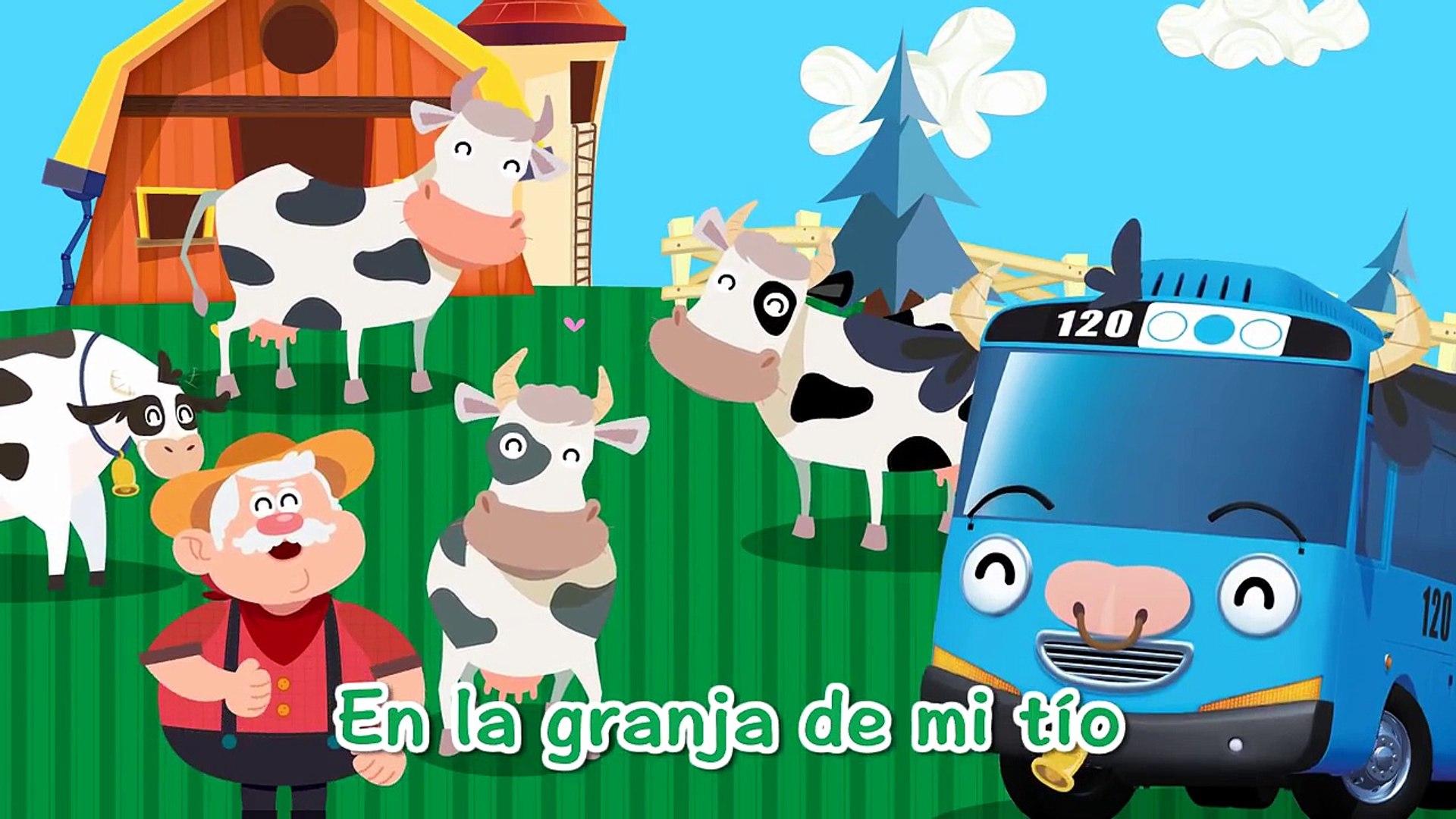 Tayo Canciones Infantiles] #13 En la granja de mi tío - Dailymotion Video