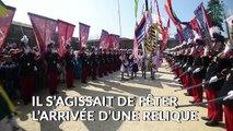 L'anneau de Jeanne d'Arc présenté au parc du Puy du fou