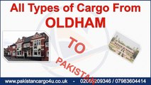 Pakistan Cargo Service, Oldham to Pakistan Cargo, Sea Cargo from Oldham to Pakistan, Air Cargo to Pakistan from Oldham,