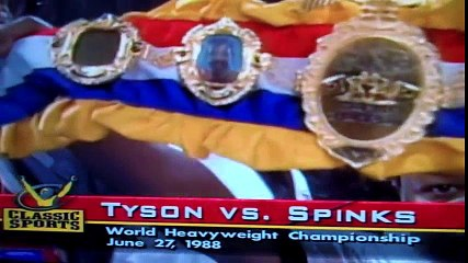 Mike Tyson Vs. Michael Spinks HD  Historical Boxing Matches