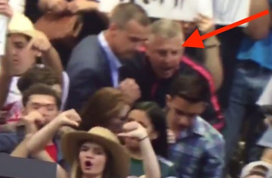 Man Trump Blamed for Grabbing Protester Instead of Campaign Manager Also Works for Trump