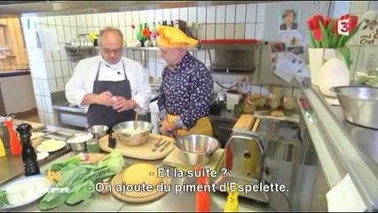 """Recettes : Génoise pour 4 """"Lamalas"""" et Raviolis aux Ziegenkäse"""