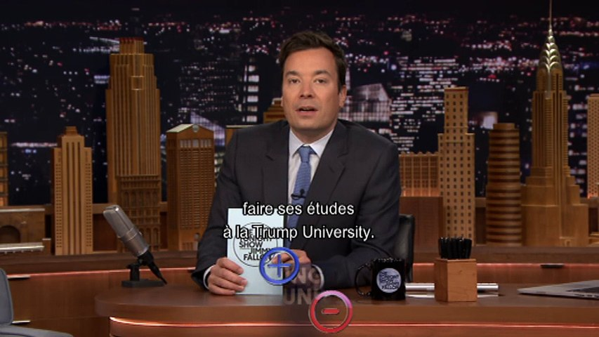 """Jimmy Fallon présente les """"Pour et Contre"""" - The Tonight Show du 16/03 sur MCM"""