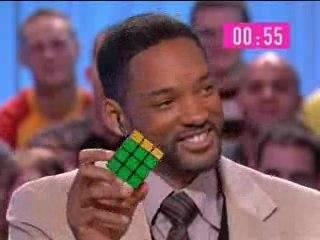 Will Smith_cubo di Rubik in 55 secondi