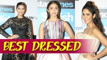 Sonam Kapoor, Katrina Kaif, Alia Bhatt - HT Most Stylish Awards 2016 Best Dressed Actress