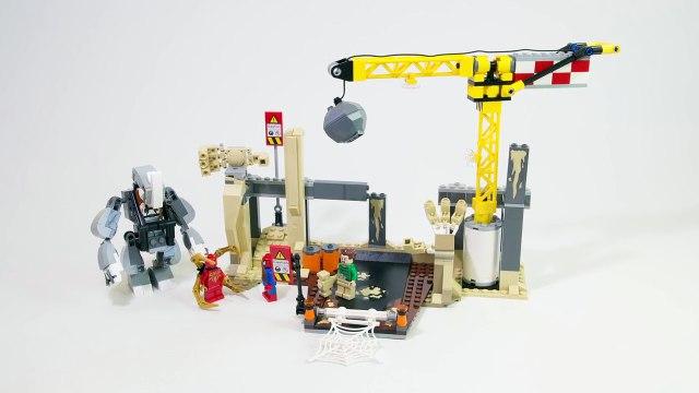 Lego Super Heroes 76037 Rhino and Sandman Super Villain Team-up - Lego Speed Build