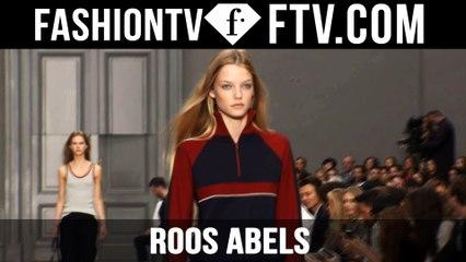 Roos Abels | Model Talks S/S 16 - Paris  | FTV.com