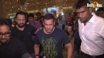 Salman Khan Return From TOIFA Awards 2016