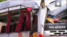 Nacionalidades de vítimas de acidente de autocarro em Espanha conhecidas