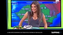 Une miss météo roumaine piégée par sa poitrine, elle fait le buzz après sa météo très sexy (vidéo)