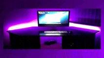 Lifetime Warranty LED Light KIT for your Gaming DESK  Gamer Desk  Computer Desk  8ft