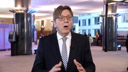 Message de Guy Verhofstadt •Congrès de l'UDI