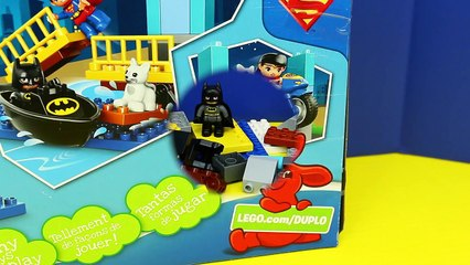 NEW Duplo Lego Batman Adventure Set + Superman With Surprise Eggs Guessing Game by DisneyC