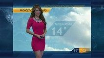 Yanet Garcia y El Avance Del Pronostico Del Tiempo 04-Dic-2015 19:00 PM Full HD