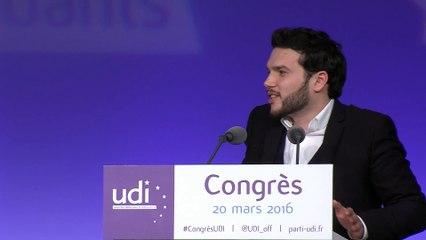 Discours d'Aurélien Sebton - Congrès - 20 mars 2016