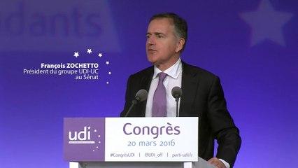 Discours de François Zochetto - Congrès - 20 mars 2016