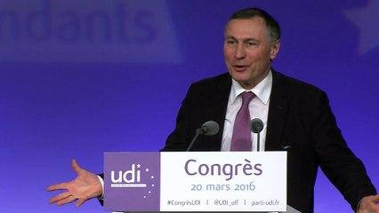 Discours de Jean-Marie Bockel - Congrès - 20 mars 2016