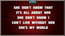 She Thinks She Needs Me - Andy Griggs tribute - Lyrics