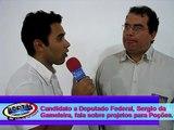 TV PORTAL - Entrevista com candidato a deputado Federal Sergio da Gameleira..mp4