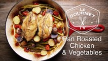 Pan Roasted Chicken Breast with Vegetables