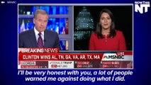 "Tulsi Gabbard Says She Was ""Warned"" Not To Endorse Bernie Sanders"