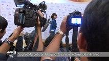 Sophie Marceau en Asie pour le cinéma et le made in France