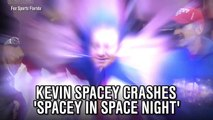 Kevin Spacey crashes 'Spacey In Space Night'