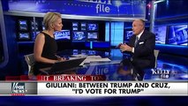 Why Rudy Giuliani would rather vote for Donald Trump