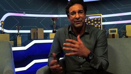 watch Wasim Akram answers to Star Cricket