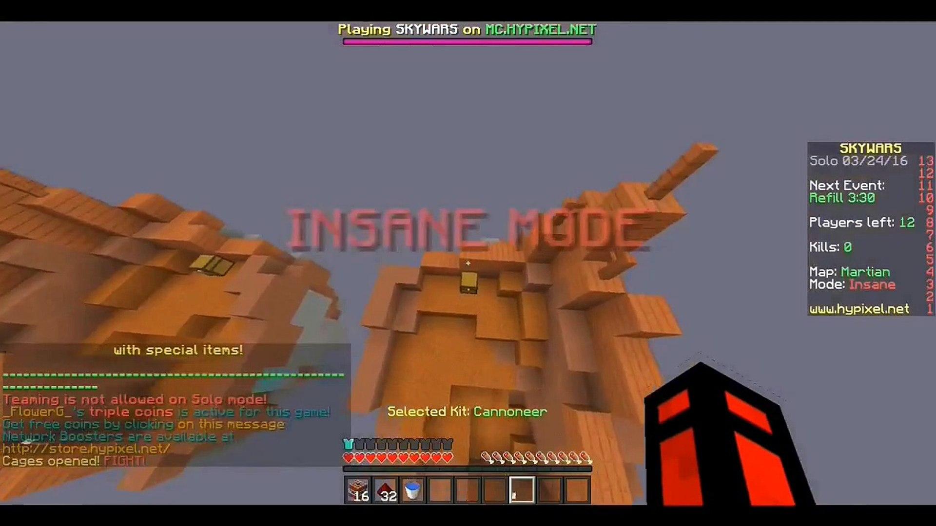 Minecraft: Quick Trap v6 Hypixel SkyWars Shorts #28