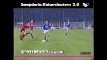 03.10.1990 - 1990-1991 UEFA Cup Winners' Cup 1st Round 2nd Leg UC Sampdoria 2-0 1. FC Kaiserslautern