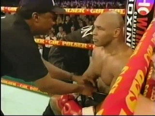 Mike Tyson - Brian Nielsen. 2001-10-13.  Historical Boxing Matches