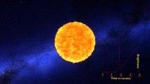 La NASA capta por primera vez la explosión de una estrella