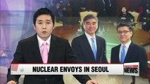 S. Korea, U.S. nuke envoys discuss implementation of N. Korea sanctions
