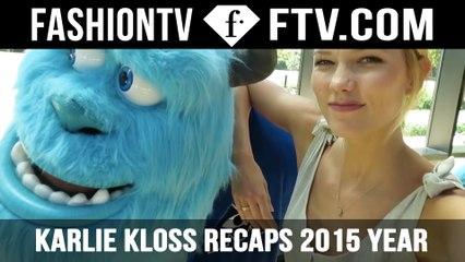 2015 Recap with Karlie Kloss | FTV.com