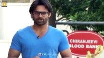 Sai Dharma Tej About Blood Donation Event on Ram Charan Birthday - Filmyfocus.com