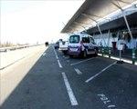 mesures de sécurité à l'aéroport de Lille Lesquin