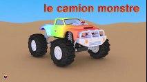Jeu d'assemblage : le camion monstre. Dessin animé francais. Monster trucks for children  Star Dessin Anime Français