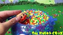 ぽぽちゃん おもちゃアニメ ドラえもんの顔の中にビーズを入れてかくれんぼ!だだんだん Toy Kids トイキッズ animation anpanman Baby Doll Popochan