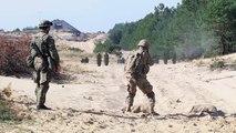 Stryker & Boyevaya Mashina Pekhoty Infantry Fighting Vehicle Combined Weapons Range