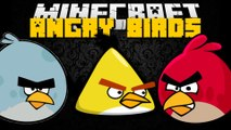 Minecraft: ANGRY BIRDS MOD (Angry Birds in Minecraft, Explosions & More) Mod Showcase