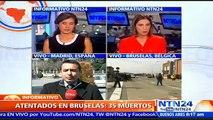 """""""El terrorismo quiere debilitar nuestra democracia"""": Portavoz grupo Parlamentario Popular de España sobre atentados en Bruselas"""